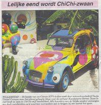 Amigoe: Lelijke eend wordt Chichi-zwaan