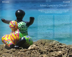 Curaçao's Chichi in Curacao Nights Magazine