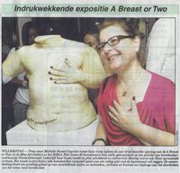 Indrukwekkende expositie A breast or Two