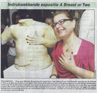 Indrukwekkende expositie A breast or Two