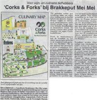 """""""Corks & Forks"""" bij Brakkeput Mei Mei"""