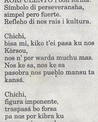 Amigoe: Chichi gedicht