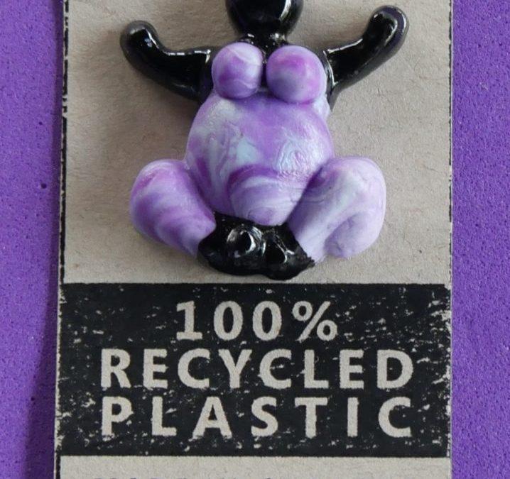 Pin Purple